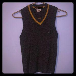 Diesel acrylic and wool vest
